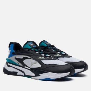 Мужские кроссовки RS-Fast Mix Puma. Цвет: чёрный