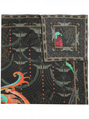 Саронг Wise Wings с абстрактным принтом Camilla. Цвет: черный
