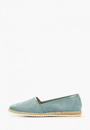 Эспадрильи Giotto. Цвет: зеленый
