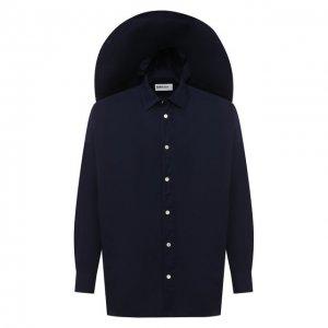 Комплект из рубашки и шляпы AMBUSH. Цвет: синий