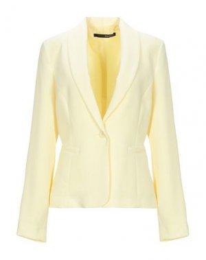 Пиджак ANNARITA N. Цвет: желтый