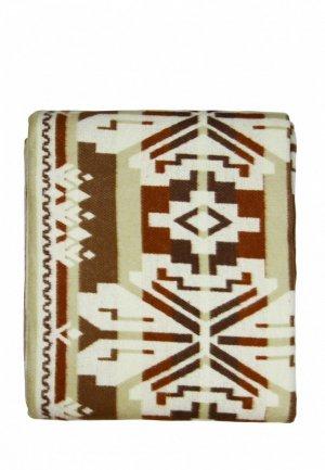 Одеяло 1,5-спальное Arloni. Цвет: коричневый