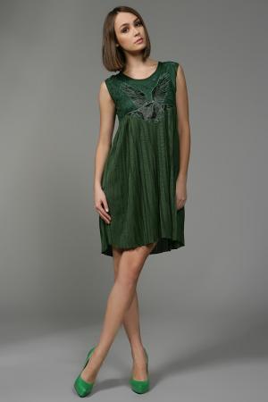 Платье Anna Rita N. Цвет: зеленый