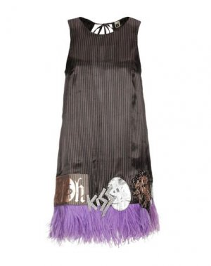 Короткое платье B2. Цвет: черный