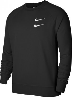 Свитшот мужской Sportswear Swoosh, размер 50-52 Nike. Цвет: черный
