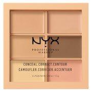 Палетка для коррекции лица Professional Makeup 3C Palette - Conceal, Correct, Contour Light NYX