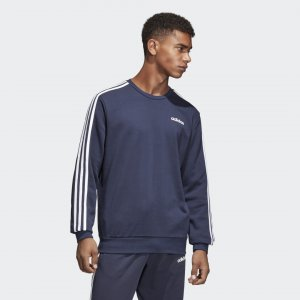 Джемпер Essentials 3-Stripes Sport Inspired adidas. Цвет: белый