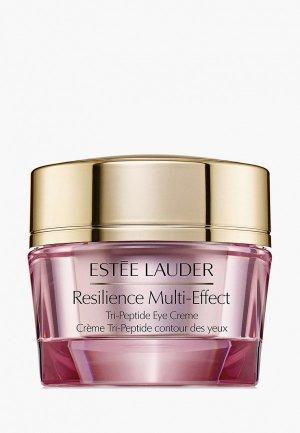Крем для кожи вокруг глаз Estee Lauder лифтинговый повышающий упругость Resilience Multi-Effect Tri-Peptide Eye Crème 0 15 мл. Цвет: прозрачный