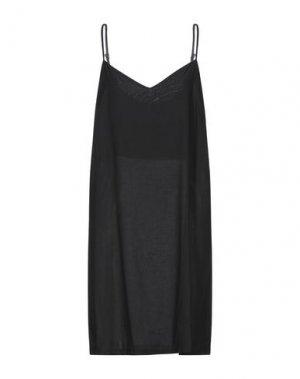 Короткое платье DANIELE FIESOLI. Цвет: черный