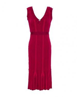 Платье до колена HERVÉ LÉGER. Цвет: пурпурный