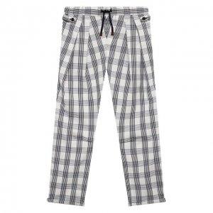 Хлопковые брюки Brunello Cucinelli. Цвет: разноцветный