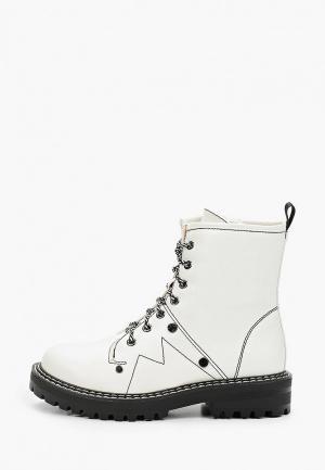 Ботинки Bona Dea. Цвет: белый