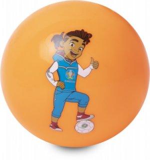 Мяч футбольный сувернирный EURO 2020 UEFA. Цвет: оранжевый