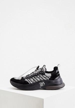 Кроссовки John Galliano. Цвет: черный