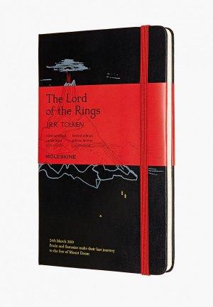 Блокнот Moleskine LIMITED EDITION LORD OF THE RINGS. Цвет: черный
