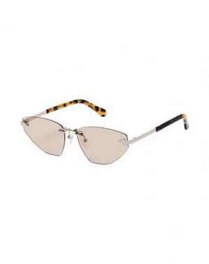 Солнечные очки KAREN WALKER. Цвет: золотистый