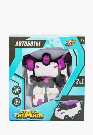 Робот Woow Toys -трансформер. Цвет: разноцветный