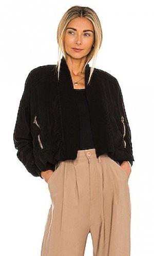 Куртка fara YFB CLOTHING. Цвет: черный