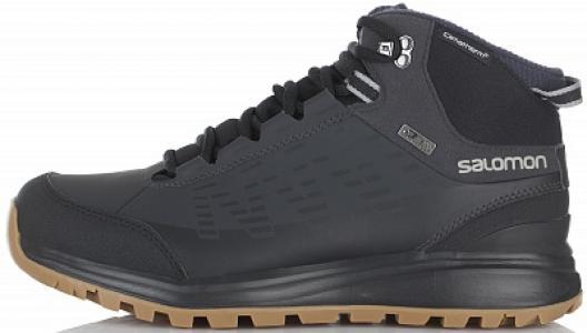 Ботинки утепленные мужские , размер 40 Salomon. Цвет: черный