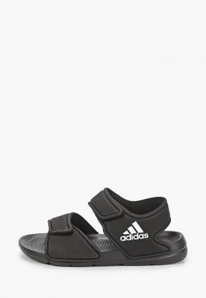 Сандалии adidas Originals ALTASWIM. Цвет: черный