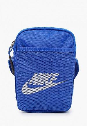 Сумка Nike NK HERITAGE S SMIT. Цвет: серый