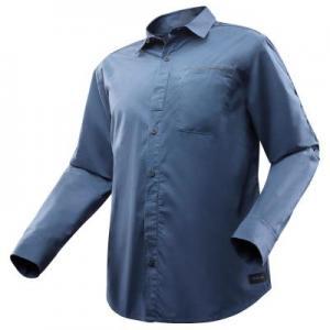 Рубашка С Длинными Рукавами Для Путешествий Модульная Мужская Travel 500 Modul FORCLAZ