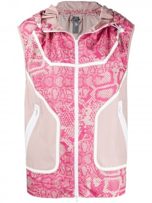 Водонепроницаемый жилет adidas by Stella McCartney. Цвет: розовый