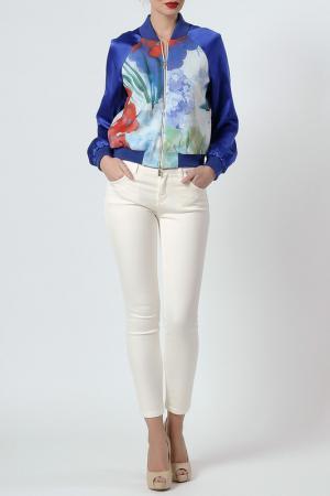 Куртка Blugirl. Цвет: мультицвет