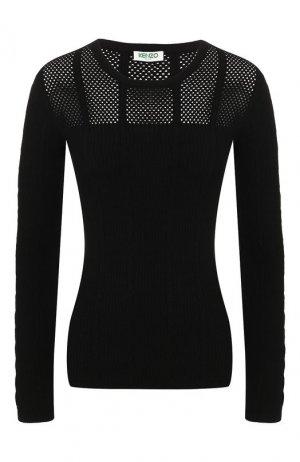 Пуловер Kenzo. Цвет: черный