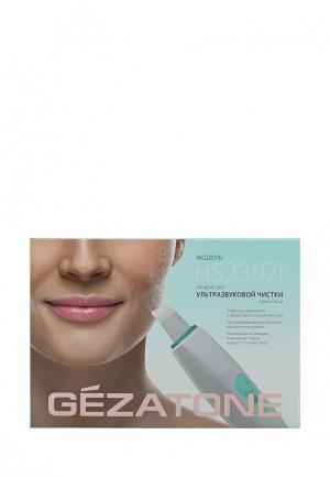 Прибор для очищения лица Gezatone HS2307i Bio Sonic ультразвуковой терапии. Цвет: белый