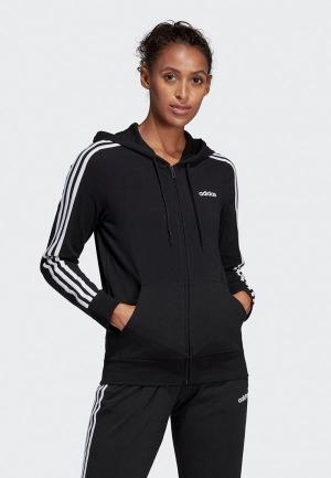 Толстовка adidas W E 3S FZ HD SJ. Цвет: черный