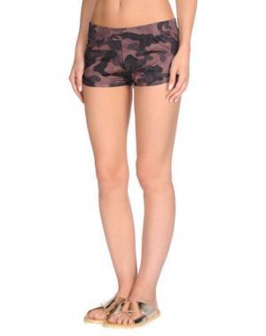 Пляжные брюки и шорты RRD. Цвет: темно-коричневый
