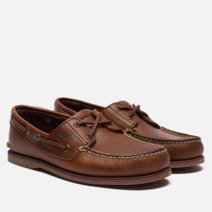 Мужские ботинки 2-Eye Classic Timberland. Цвет: коричневый