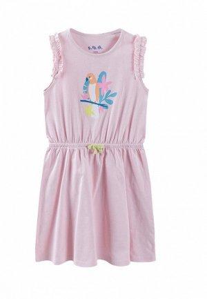 Платье 5.10.15. Цвет: розовый