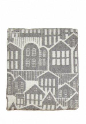 Одеяло 1,5-спальное Arloni. Цвет: серый