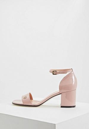 Босоножки Pollini. Цвет: розовый
