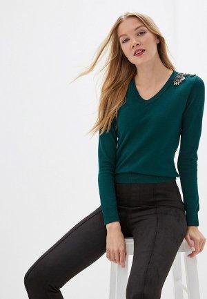 Пуловер Love Republic. Цвет: зеленый