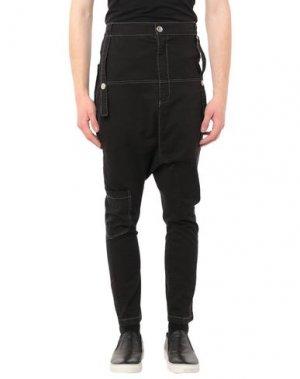 Повседневные брюки BAD SPIRIT. Цвет: черный