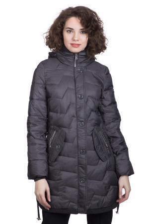 Пальто Just Valeri. Цвет: серый