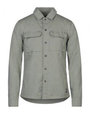 Куртка ADHOC. Цвет: зеленый