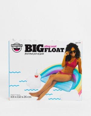 Надувной матрас для бассейна в форме радуги -Многоцветный Big Mouth