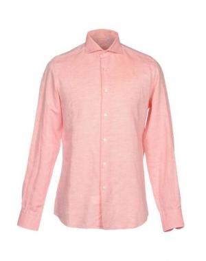 Pубашка HARRY & SONS. Цвет: розовый
