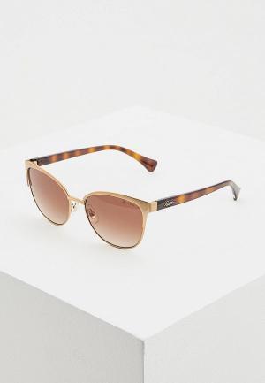 Очки солнцезащитные Ralph Lauren RA4127 933613. Цвет: золотой