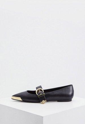 Туфли Versace Jeans Couture. Цвет: черный
