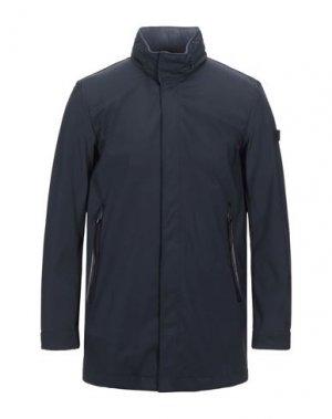 Легкое пальто HETREGO'. Цвет: темно-синий