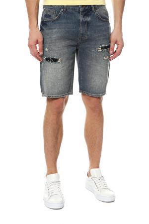 Шорты джинсовые Superdry. Цвет: мультицвет