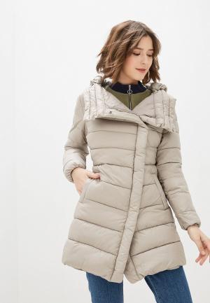 Куртка утепленная Tantra. Цвет: серый