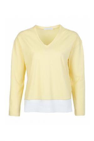 Пуловер FABIANA FILIPPI. Цвет: желтый