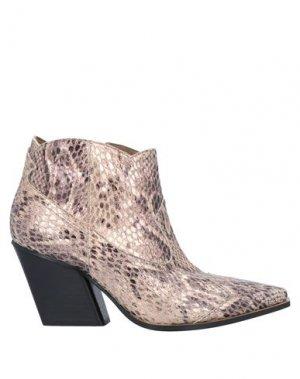 Полусапоги и высокие ботинки GIANCARLO PAOLI. Цвет: медный