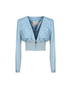 Куртка BETTY BLUE. Цвет: небесно-голубой